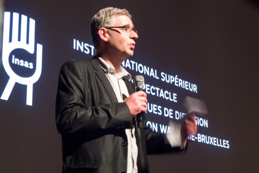 Laurent Gross, Directeur de l'INSAS